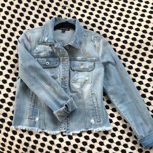 INC Jean jacket, Small